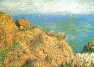 The Custom Officer's House at Varengeville by Claude Monet