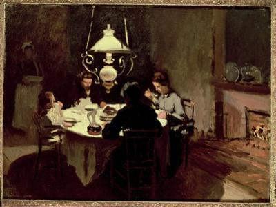 The Dinner, 1868-9 by Claude Monet