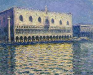 The Doges Palace, 1908 by Claude Monet