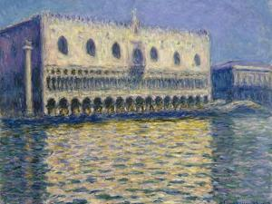 The Doges Palace (Le Palais Duca), 1908 by Claude Monet