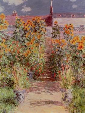 The Garden at Vetheuil, 1881 by Claude Monet
