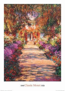 The Garden Path by Claude Monet