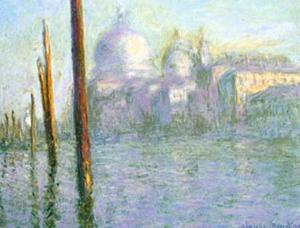 The Grand Canal of Venice by Claude Monet