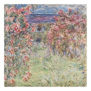 The House Among the Roses, between 1917 and 1919 by Claude Monet
