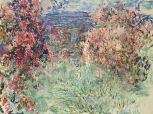 The House Among the Roses (La Maison Dans Les Roses), 1925 by Claude Monet