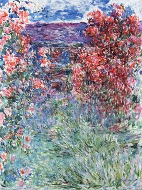 The House at Giverny Under the Roses, 1925 by Claude Monet