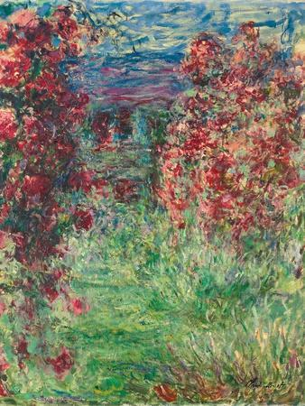 The House at Giverny under the Roses; La Maison Dans Les Roses, 1925