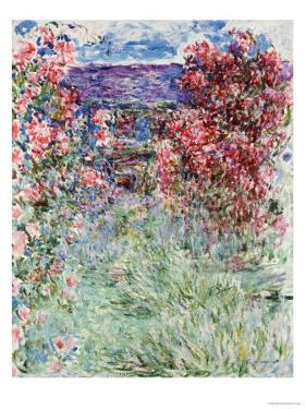 The House in the Roses, 1925 by Claude Monet