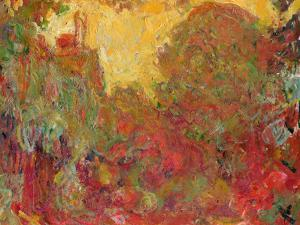 The House Seen from the Rose Garden, 1922-24 by Claude Monet