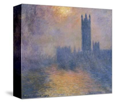 The Houses of Parliament, London, with the Sun Breaking Through the Fog by Claude Monet
