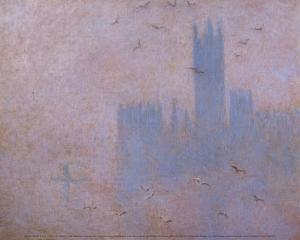 The Houses of Parliament, The Seagulls by Claude Monet