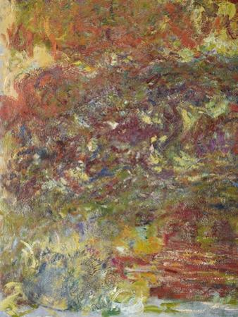 The Japanese Bridge, 1918-24 (Detail) by Claude Monet