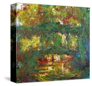 The Japanese Bridge at Giverny, 1918-1924 by Claude Monet