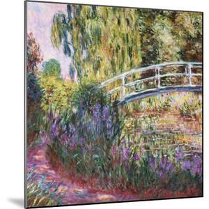 The Japanese Bridge, Pond with Water Lillies; Le Pont Japonais Bassin Aux Nympheas by Claude Monet