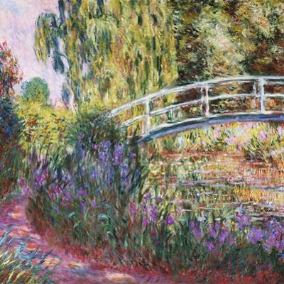 The Japanese Bridge, Pond with Water Lillies; Le Pont Japonais Bassin Aux Nympheas by Claude Monet