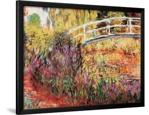 The Japanese Bridge by Claude Monet