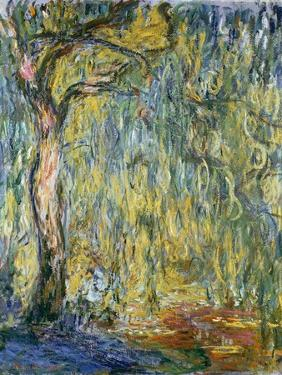 The Large Willow at Giverny, 1918 by Claude Monet
