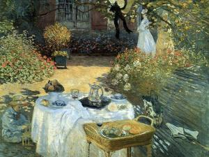 The Luncheon, 1876 by Claude Monet