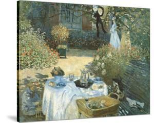 The Luncheon by Claude Monet