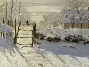 The Magpie, c.1869 by Claude Monet