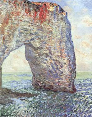 The Manneporte near Etretat, 1886 by Claude Monet
