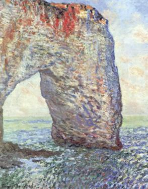 The Manneporte near Etretat, c.1886 by Claude Monet