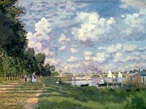 The Marina at Argenteuil, 1872 by Claude Monet