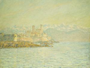 The Old Fort at Antibes by Claude Monet