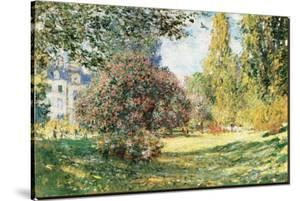The Parc Monceau, Paris, c.1876 by Claude Monet