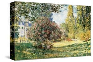 The Parc Monceau, Paris, c.1876 by Claude Monet