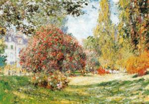 The Park at Monceau by Claude Monet
