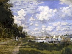 The Pond of Argenteuil by Claude Monet
