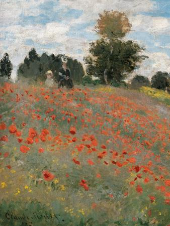 The Poppy Field by Claude Monet
