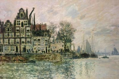 The Port of Amsterdam, C.1873 by Claude Monet