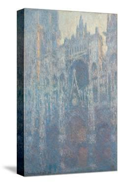 The Portal of Rouen Cathedral in Morning Light, 1894 by Claude Monet