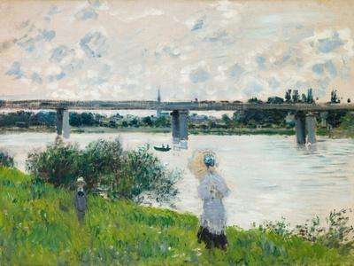 The Promenade with the Railroad Bridge, Argenteuil, 1874