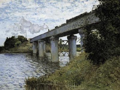The Railway Bridge at Argenteuil by Claude Monet