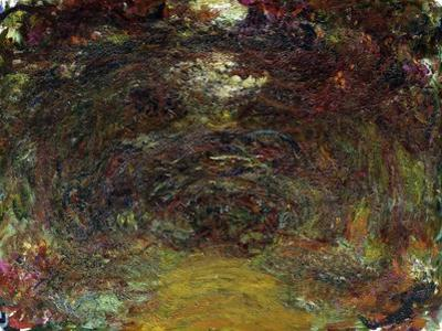 The Rose Path, 1920-22 by Claude Monet