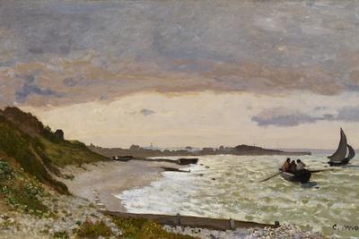 The Seashore at Sainte-Adresse, 1864