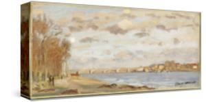 The Seine at Argenteuil, 1872 by Claude Monet