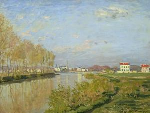 The Seine at Argenteuil, 1873 by Claude Monet