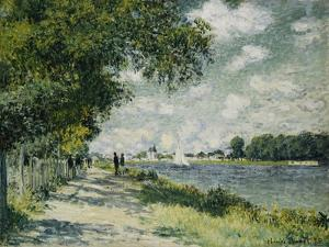 The Seine at Argenteuil, 1875 by Claude Monet