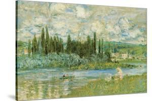 The Seine River by Claude Monet