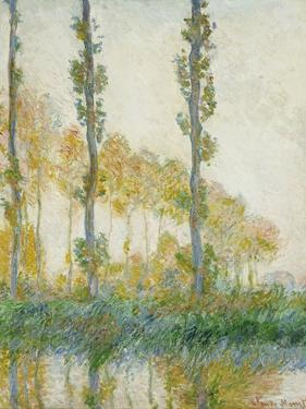 The Three Trees, Autumn, 1891 by Claude Monet