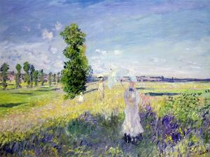 The Walk, circa 1872-75 by Claude Monet