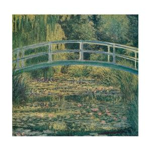 'The Water-Lily Pond', 1899 by Claude Monet