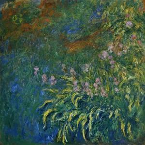 The Water Lily Pond, 1919-1925 by Claude Monet