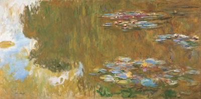The Water Lily Pond, c. 1917-19 by Claude Monet