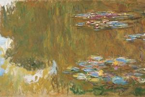 The Water Lily Pond, Ca 1917-1919 by Claude Monet