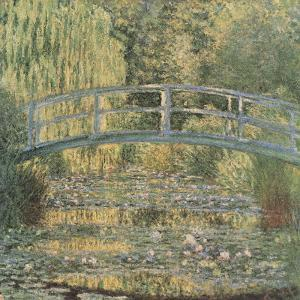 The Waterlilly Pond, Green Harmony by Claude Monet